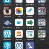2014年9月のiPhoneホーム画面&ウィジェット