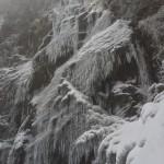 英彦山四王寺の滝「幻の氷瀑」