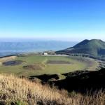 阿蘇山登山イワカガミを眺めながらトレイルラン。烏帽子岳・杵島岳・往生岳・草千里散策