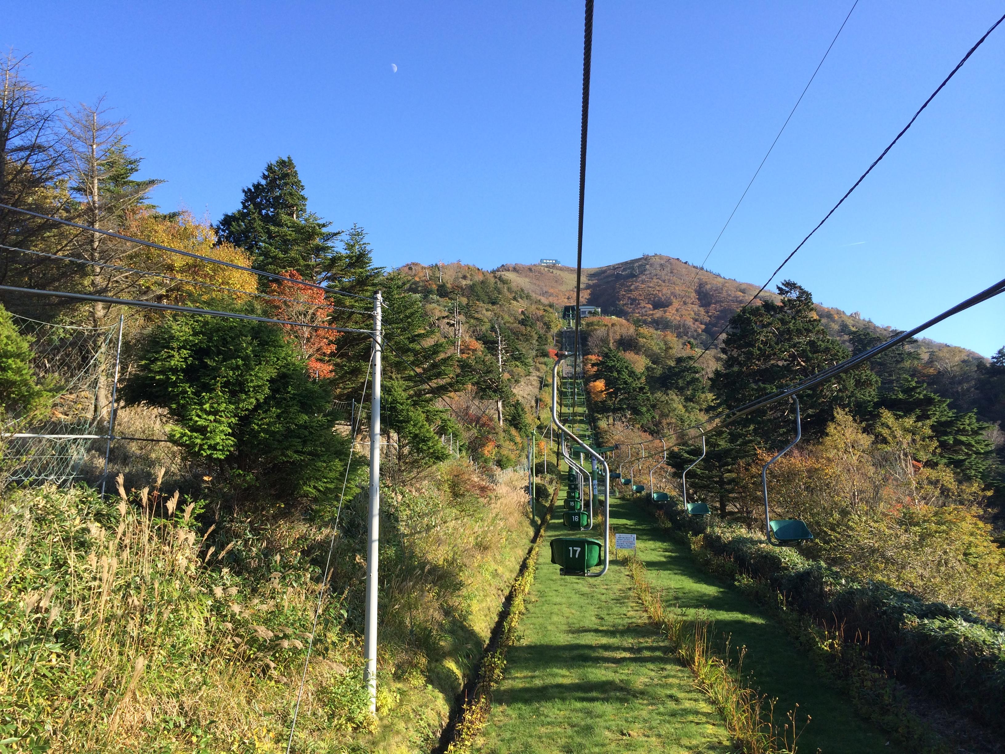 四国上陸、移動時間20時間弱、行動時間2時間の剣山登山