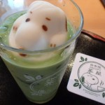 湯布院の和カフェ「スヌーピー茶屋」で抹茶三昧