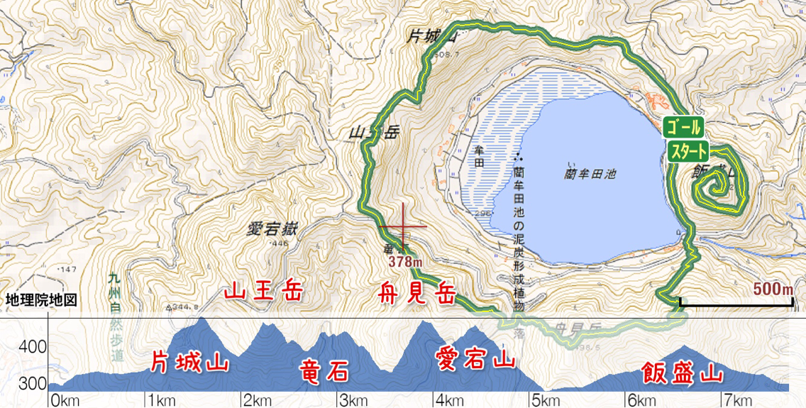 第3回藺牟田池外輪山トレイルエントリー完了
