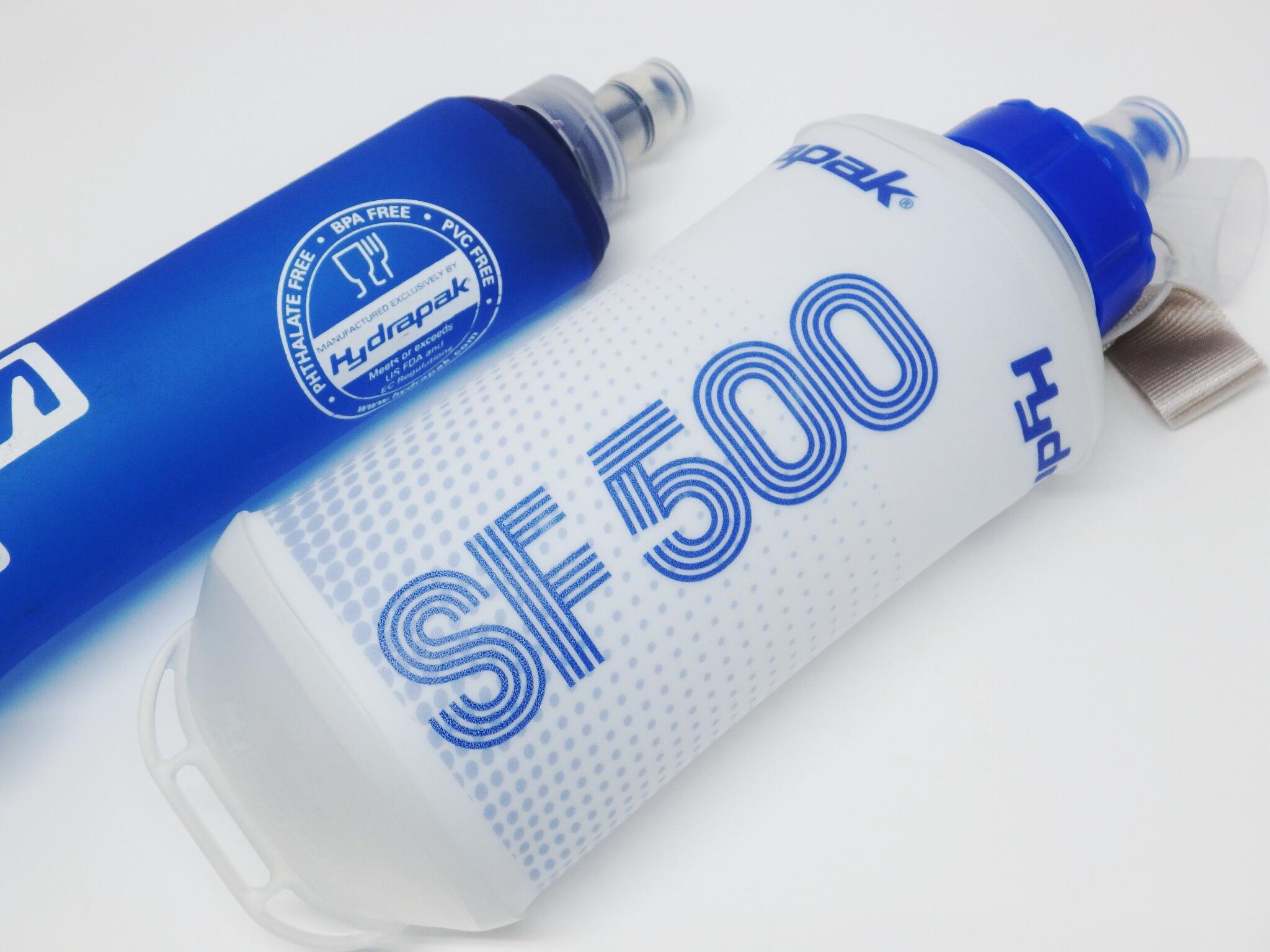 マラソンやトレイルランニングにペットボトルや水筒代わりにソフトフラスク持って行きませんか?