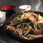 ドラム缶焼肉×Yoshiで鉄板レバニラ炒めでスタミナ補給