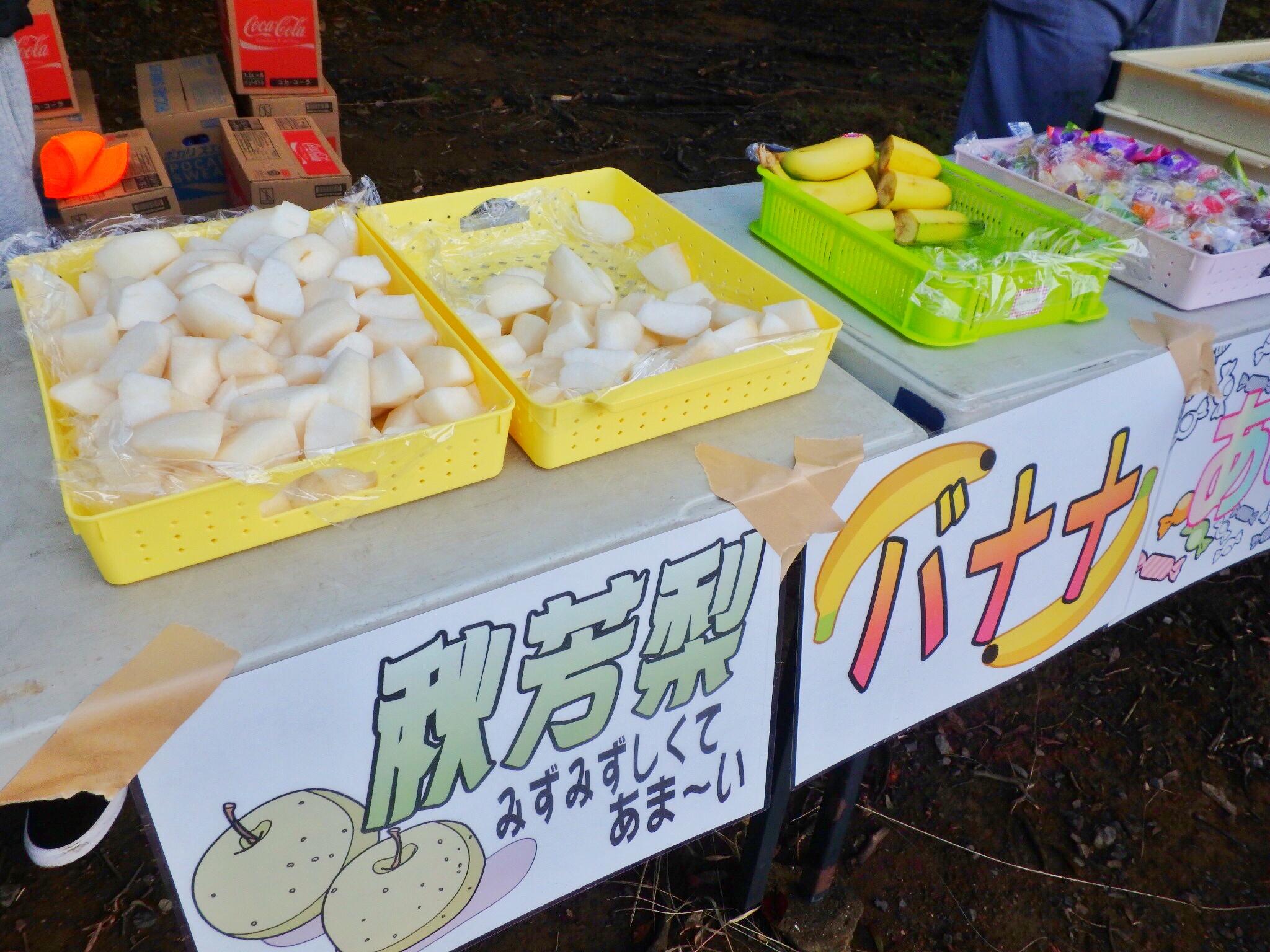 花咲き誇る秋吉台トレイルランニング。エイドで梨とういろう食べ放題♪